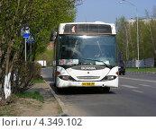Купить «Автобус № 470, город Дзержинский, Московская область», эксклюзивное фото № 4349102, снято 4 мая 2009 г. (c) lana1501 / Фотобанк Лори