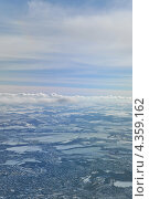 Над Европой (2013 год). Стоковое фото, фотограф Алексей Меньшиков / Фотобанк Лори