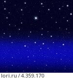 Ночное звездное небо. Стоковое фото, фотограф Felix Bensman / Фотобанк Лори