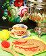Блины с красной икрой и самовар на столе. Масленица, эксклюзивное фото № 4362202, снято 5 марта 2013 г. (c) Яна Королёва / Фотобанк Лори