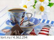 Купить «Завтрак в морском стиле», фото № 4362294, снято 24 августа 2012 г. (c) Наталья Спиридонова / Фотобанк Лори