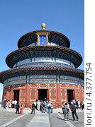 Пекин, храм Неба (2012 год). Редакционное фото, фотограф Овчинникова Ирина / Фотобанк Лори