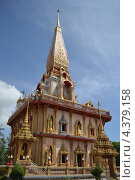 Буддистский храм. Стоковое фото, фотограф Никита Шауберт / Фотобанк Лори