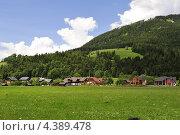Альпийский пейзаж. Стоковое фото, фотограф Екатерина Васенина / Фотобанк Лори