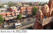 Купить «Вид на Джайпур, Индия», видеоролик № 4392550, снято 11 марта 2013 г. (c) Михаил Коханчиков / Фотобанк Лори