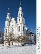Купить «Софийский собор в Полоцке, Беларусь», эксклюзивное фото № 4402118, снято 9 марта 2013 г. (c) Михаил Широков / Фотобанк Лори