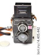 """Старая пленочная фотокамера """"Любитель 166"""" (2013 год). Редакционное фото, фотограф Яна Королёва / Фотобанк Лори"""