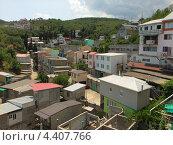 Многоэтажные гаражи в Алуште, фото № 4407766, снято 4 июля 2012 г. (c) Ельцов Владимир / Фотобанк Лори