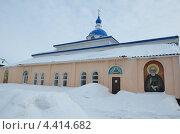 Церковь в с.Целинное, Алтайский край. Стоковое фото, фотограф Липунов Леван / Фотобанк Лори