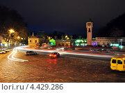 Кисловодский вокзал (2013 год). Редакционное фото, фотограф Синенко Юрий / Фотобанк Лори