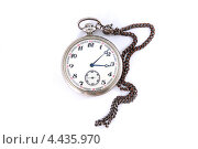 Карманные часы с цепочкой. Стоковое фото, фотограф CHERKAUSKAS VIKTOR / Фотобанк Лори