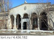 Старое здание в Торговом городке. Рязань (2013 год). Редакционное фото, фотограф УНА / Фотобанк Лори