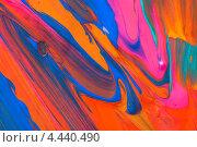 Купить «Разноцветные мазки краски», фото № 4440490, снято 11 декабря 2012 г. (c) Степанов Григорий / Фотобанк Лори