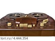 Купить «Кнопки старого катушечного магнитофона», фото № 4444354, снято 5 апреля 2012 г. (c) Иван Бондаренко / Фотобанк Лори