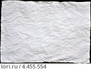 Фактура мятая бумага. Стоковое фото, фотограф Андрей Горшков / Фотобанк Лори