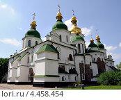 Софийский собор в Киеве, Украина (2011 год). Стоковое фото, фотограф Ekaterina Shustrova / Фотобанк Лори