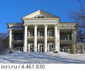 Купить «Летний дом графа Орлова, Нескучный сад, Москва», эксклюзивное фото № 4461830, снято 31 марта 2011 г. (c) lana1501 / Фотобанк Лори