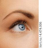Купить «Женский глаз крупным планом», фото № 4474006, снято 6 января 2013 г. (c) Syda Productions / Фотобанк Лори