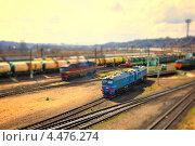 Поезд (2012 год). Редакционное фото, фотограф Иванов Александр / Фотобанк Лори