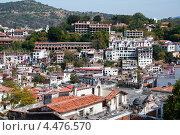 Купить «Вид на город. Таско», фото № 4476570, снято 17 декабря 2011 г. (c) Ludenya Vera / Фотобанк Лори