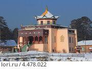 Буддистский храм дацан (2012 год). Редакционное фото, фотограф Владимир Нестеренко / Фотобанк Лори