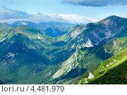 Купить «Летние горы Татра, Польша», фото № 4481970, снято 14 июля 2012 г. (c) Юрий Брыкайло / Фотобанк Лори