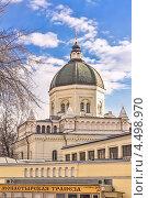 Купить «Иоанно-Предтеченский ставропигиальный женский монастырь. Москва», фото № 4498970, снято 9 апреля 2013 г. (c) Владимир Сергеев / Фотобанк Лори