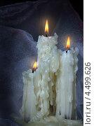 Свечи с потеками парафина. Стоковое фото, фотограф Наталья Аксёнова / Фотобанк Лори