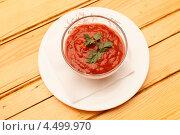 Томатный соус. Стоковое фото, фотограф Максим Шебеко / Фотобанк Лори