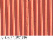Окрашенные металлический профиль. Стоковое фото, фотограф Владимир Нестеренко / Фотобанк Лори