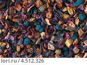 Фон из сухих листьев чая. Стоковое фото, фотограф Наталья Ромашина / Фотобанк Лори