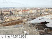 Купить «Площадь Sudtiroler Platz в центре Вены, Австрия», фото № 4515958, снято 20 февраля 2012 г. (c) Losevsky Pavel / Фотобанк Лори