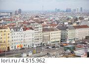 Купить «Площадь Sudtiroler Platz в центре Вены, Австрия», фото № 4515962, снято 20 февраля 2012 г. (c) Losevsky Pavel / Фотобанк Лори