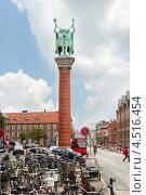 Купить «Памятник викингам в Копенгагене, Дания», фото № 4516454, снято 23 июля 2011 г. (c) Losevsky Pavel / Фотобанк Лори