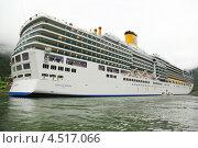 Купить «Круизный лайнер Коста Луминоса 26 июня 2011 года в Norddal, Норвегия», фото № 4517066, снято 26 июля 2011 г. (c) Losevsky Pavel / Фотобанк Лори
