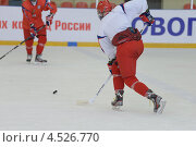 Купить «Открытая ледовая тренировка юниорской, до 18 лет, сборной России по хоккею», фото № 4526770, снято 12 апреля 2013 г. (c) Stockphoto / Фотобанк Лори