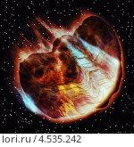 Купить «Абстрактный астероид», иллюстрация № 4535242 (c) Анна Павлова / Фотобанк Лори