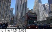 Угол 5-й авеню и Центрального парка, Нью-Йорк, видеоролик № 4543038, снято 26 октября 2012 г. (c) Igor Vorobyov / Фотобанк Лори