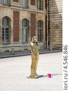 Купить «Живая статуя (египтянка) в Версале. Франция», фото № 4546846, снято 4 августа 2012 г. (c) Олег Тыщенко / Фотобанк Лори