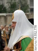 Патриарх Кирилл (2012 год). Редакционное фото, фотограф Анатолий Евсеев / Фотобанк Лори