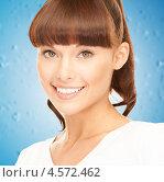 Купить «Красивая девушка с длинной челкой», фото № 4572462, снято 27 июня 2010 г. (c) Syda Productions / Фотобанк Лори
