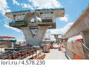 Фрагмент дороги на реконструкции. Стоковое фото, фотограф Кропотов Лев / Фотобанк Лори