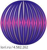 Сфера с абстрактным рисунком. Стоковая иллюстрация, иллюстратор Александр Лукьянов / Фотобанк Лори