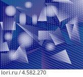 Абстрактный геометрический фон. Стоковая иллюстрация, иллюстратор Александр Лукьянов / Фотобанк Лори