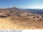 Пустыня на закате. Стоковое фото, фотограф Анфимов Леонид / Фотобанк Лори