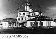 Купить «Управление морского арктического порта Диксон,1954 год», фото № 4585362, снято 28 июня 2020 г. (c) Александр Головкин / Фотобанк Лори