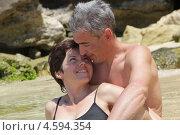 Пара отдыхает на острове. Стоковое фото, фотограф Ильина Анна / Фотобанк Лори