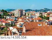 Купить «Панорамный вид города Канны, Франция», фото № 4595554, снято 1 мая 2013 г. (c) Alexander Tihonovs / Фотобанк Лори