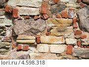 Купить «Каменная стена», фото № 4598318, снято 7 июня 2012 г. (c) Степанов Григорий / Фотобанк Лори
