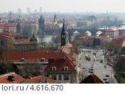 Купить «Прага. Прекрасный вид на старый город», фото № 4616670, снято 21 апреля 2013 г. (c) Яна Королёва / Фотобанк Лори
